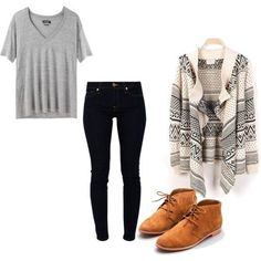 This is an absolutely fabulous casual outfit for any day!