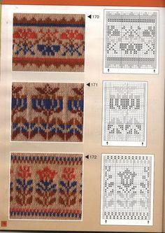 View album on Yandex. Tejido Fair Isle, Punto Fair Isle, Motif Fair Isle, Fair Isle Chart, Fair Isle Pattern, Tapestry Crochet Patterns, Fair Isle Knitting Patterns, Knitting Charts, Knitting Stitches