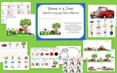 Speech Room News: Sheep In a Jeep Speech and Language