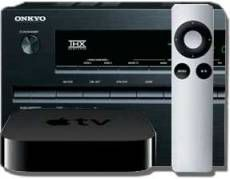 The Onkyo remote is preset to control Apple TV.     Have an Apple TV? Use it with your Onkyo Network AVR.     It's all integrated; it all works together beautifully.