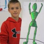 Fourth Grade figure drawing