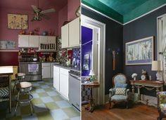 Artist Miranda Lake's home in New Orleans