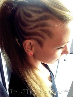 Awesome Hair tattoo pattern :D  www.facebook.com/skullpturehair