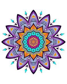 Ouroboros - 'Mandala Florescnt' (by lucasbonfante).