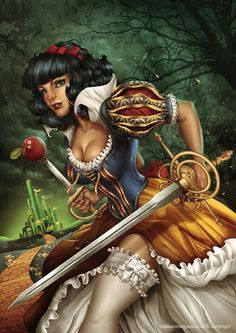 Snow White by Manuel Morgado