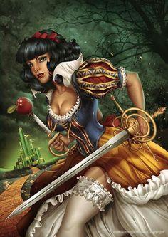 Snow White by Manuel Morgado