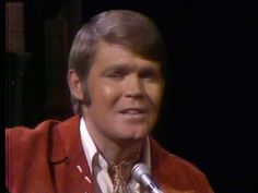 Wichita Lineman - Glen Campbell - I remember being 5 or 6 years old when his tv show was on.  I would kiss the tv and tell my mom he was my boyfriend....Silly huh?