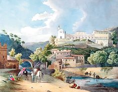 Le château de Saint-André-de-Nice, 1834 ?