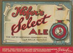Hofer's Select Ale