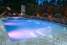 Fabulous luxus pool pool im garten