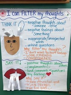 Social Emotional Learning Anchor Chart Ideas for Your Classroom Social Emotional Learning Anchor Chart Ideas for Your Classroom,Erziehung / Parenting Changing Your Thoughts Related posts:Teaching Social Skills in Kindergarten - steps to starting. Social Skills Lessons, Teaching Social Skills, Social Emotional Learning, Coping Skills, Life Skills, Social Skills Activities, Emotional Support Classroom, Teaching Kids Respect, Group Therapy Activities