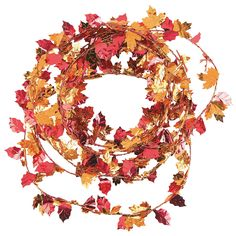 Fall+Leaves+Garland+-+OrientalTrading.com