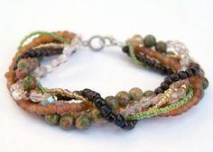 Totally Twisted Bracelet | AllFreeJewelryMaking.com