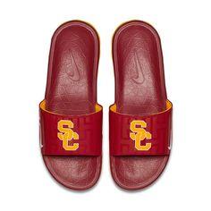 Men's Nike USC Trojans Benassi Slide Sandals, Size: 7, Med Red