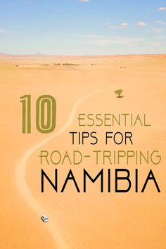 Road-tripping in Namibia? Namibia is a year-round destination, and it's one of the best spots on the planet for a road trip— but it requires planning. 10 Essentials, Road Trip Essentials, Travel Abroad, Travel Tips, Travel Ideas, Safari, Namibia, Roadtrip, Future Travel