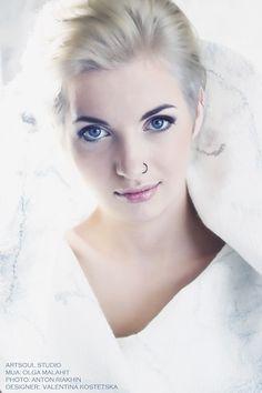 """Vest """"Blizzard"""" Wool, silk. Handmade. Designer Valentina Kostetska kostetska.com"""