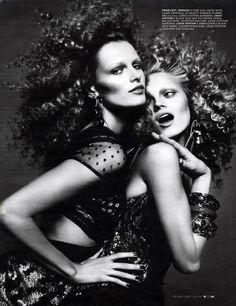 W Magazine Le chic february 2009 Mert Alas and Marcus Piggott - Photographer Alex White - Fashion Editor/Stylist Luigi Murenu - Hair Stylist Lucia Pieroni - Makeup Artist