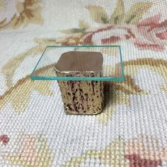 Table Glass Top Side or End 1:12 Dollhouse Miniature