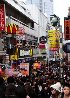 Harajuku...one of my favorite weekend walking & people watching spots in Tokyo <3