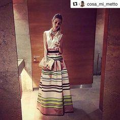 Ready for Saturday night?💫 @cosa_mi_metto indossa abito Ki6? Who Are You? 💋 #Repost @cosa_mi_metto with @repostapp
