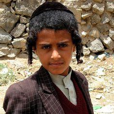 Jewish Yemeni boy