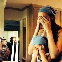Israeli actress and model Gal Gadot lighting Shabbat candles with her daughter, Alma. Despite her international fame now as Wonder Woman, she can sometimes still be spotted on the streets of Tel Aviv with her family.