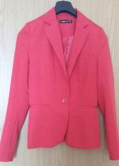 Kaufe meinen Artikel bei #Kleiderkreisel http://www.kleiderkreisel.de/damenmode/blazer-blazer/148554354-roter-blazer