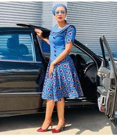 Traditional Dresses New Amazing and Stunning Traditional Dresses 2018 That Trends For Divas. African Wear Dresses, Latest African Fashion Dresses, African Print Fashion, Africa Fashion, African Attire, African Prints, African Outfits, Zulu Traditional Attire, African Traditional Dresses