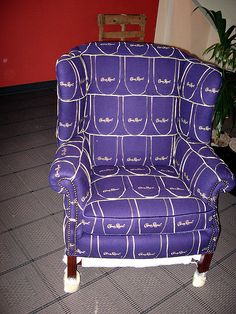 The Crown Royal Chair - perfect for a man cave of bachelor pad!