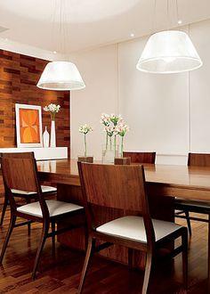 luminarias pendentes para salas de jantar