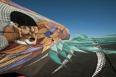 Old Plane Graffiti