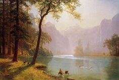 Albert Bierstadt Kerns River Valley California painting for sale, this painting is available as handmade reproduction. Shop for Albert Bierstadt Kerns River Valley California painting and frame at a discount of off. Landscape Art, Landscape Paintings, Oil Paintings, Watercolor Paintings, Albert Bierstadt Paintings, Hudson River School Paintings, California Art, Oil Painting Reproductions, Fernando Torres