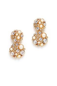 Rent Pick a Pearl Drop Earrings by kate spade new york accessories for $15 only at Rent the Runway.