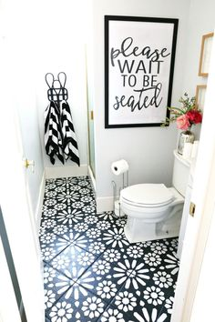 Good use of space for downstairs bathroom. I don't like the floor or shower door.