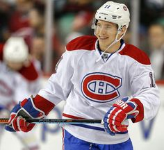 Montreal Canadiens' Brendan Gallagher loving life