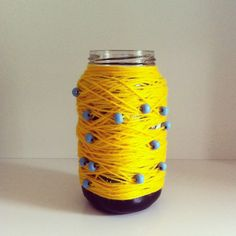 recycled mason jar Recycled Bottles, Mason Jars, Recycling, Water Bottle, Crafty, Ideas, Decor, Recycle Bottles, Water Flask