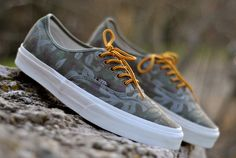 Vans California – Authentic Floral Camo #vans #cali #westcoast