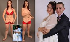 Bride who lost 9 stone says slimming ruined her wedding