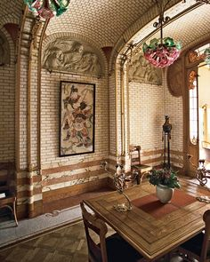 ELLE DECOR Goes to Brussels    The Horta Museum.