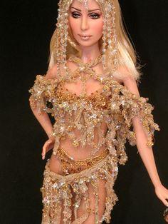 Blonde Cher Barbie Go, Barbie World, Fashion Royalty Dolls, Fashion Dolls, Dolls Dolls, Art Dolls, Barbie Celebrity, Bob Mackie, Doll Repaint