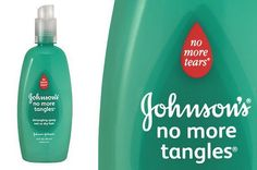 DIY Face Masks  : Johnsons Detangling Spray makes a good leave-in conditioner for adults. |