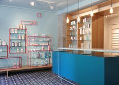 Farmacia de los Austrias pharmacy by Stone Designs, Madrid store design