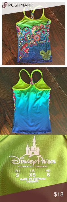Disney Parks workout top Adorable Disney Parks workout top! Excellent condition!! Disney Parks Tops Tank Tops