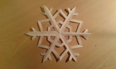 Here's a very quick and simple tutorial on how to make the classic, winter paper snowflake.