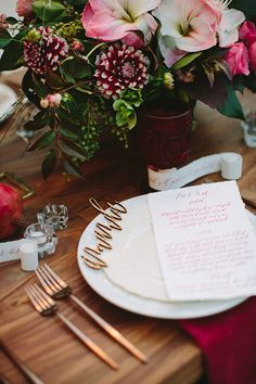Fall dinner party for FEED Projects | hosted by 100 Layer Cake / Photo by Paige Jones