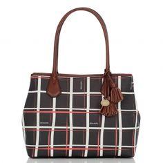 Brahmin Anytime Tote Plaid Avenue Brahmin Bags, Plaid, Handbags, Tote Bag, Purses, My Style, Polyvore, Fashion, Gingham