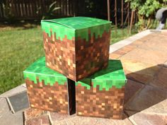 DIY+printable+Minecraft+inspired+paper+boxes+by+AtlasArtistry,+$10.00