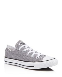 Converse All Star Sparkle Knit Low Top Sneakers