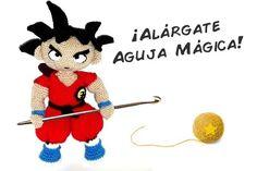 Patrón Son Goku (Dragon Ball) | Sueños Blanditos - Patrones Amigurumi