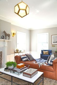 Rosa Beltran Design {Blog}: COLONIAL HOUSE TOUR FINALE: THE LIVING ROOM!